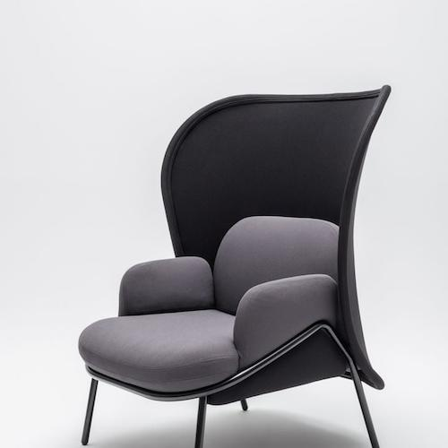 Mesh armchair large